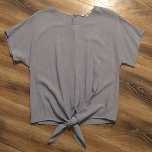 Madewell Button Back Arie Front Top